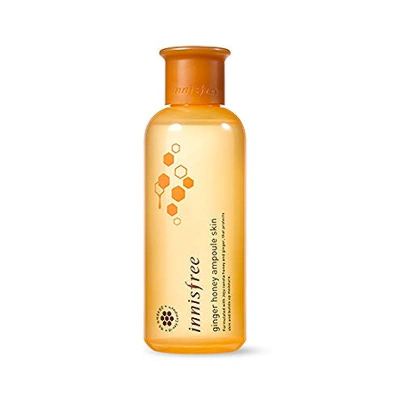 火山学者薬花輪[イニスフリー] innisfree [ジンジャー ハニー アンプール スキン(化粧水) 200ml] Ginger Honey Ampoule Skin 200ml [海外直送品]