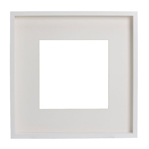 ★RIBBA フレーム(52×52cm)/ ホワイト[イケア]IKEA (90179791)