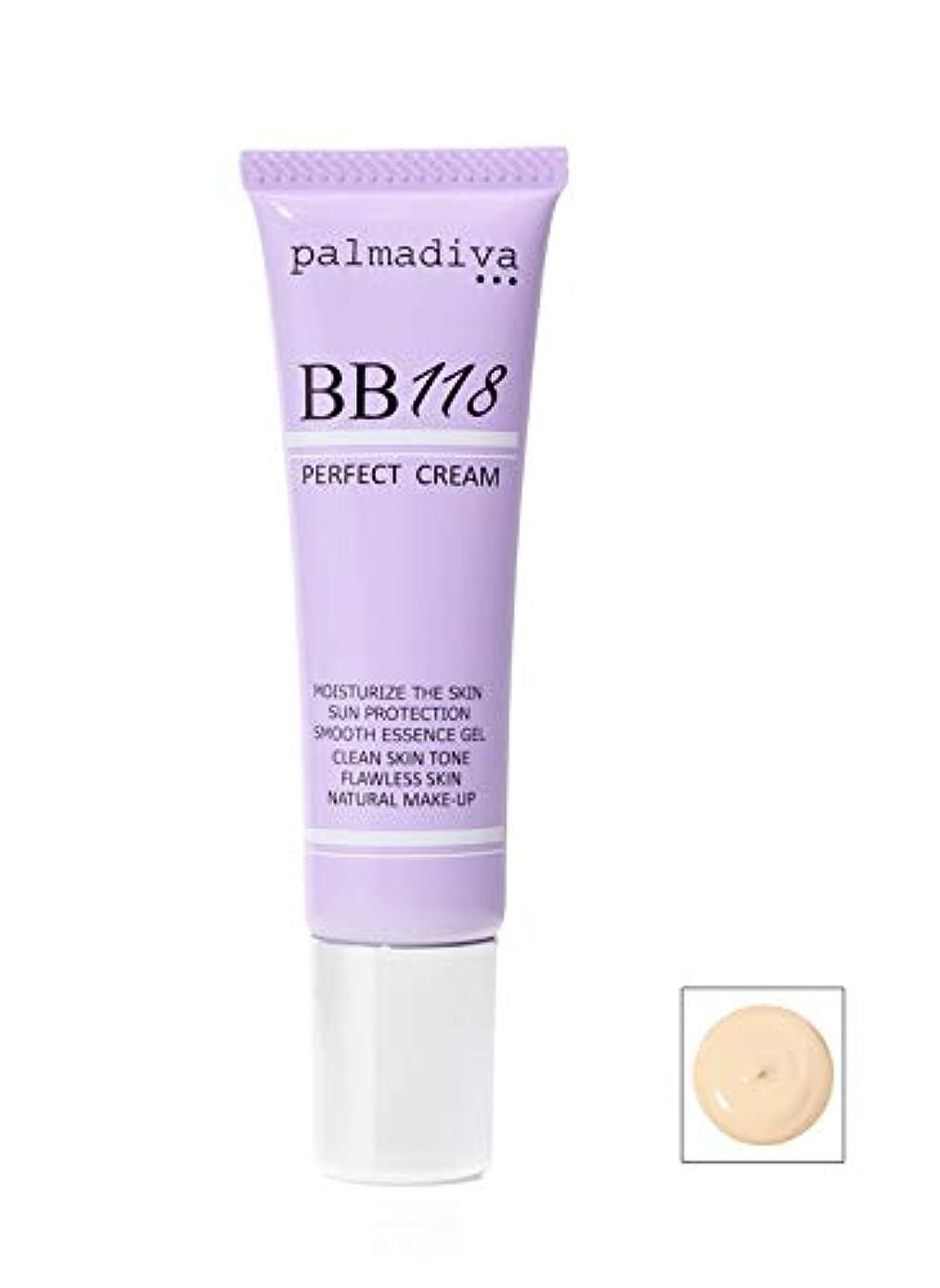 ハウジング最も遠い呪いパルマディーバ 新 BB118プラス パーフェクトクリーム (美容液ファンデーション) ヒト由来幹細胞エキス ユーグレナエキス配合