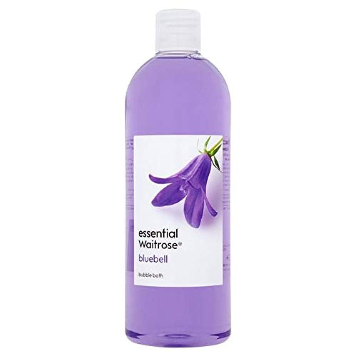 賢いまた明日ね溶ける[Waitrose ] 基本的なウェイトローズの泡風呂ブルーベル750ミリリットル - Essential Waitrose Bubble Bath Bluebell 750ml [並行輸入品]