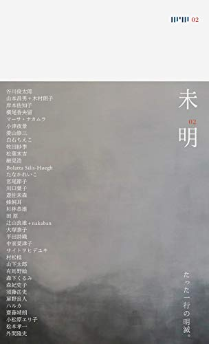 未明02 (ポエジィとアートを連絡する叢書)の詳細を見る