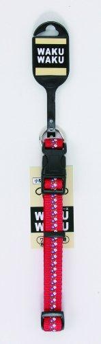 ターキー WPフラワーカラー  小型犬用    犬用首輪   赤  S