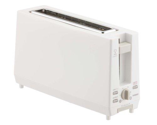 ツインバード ポップアップトースター ホワイト TS-D404W