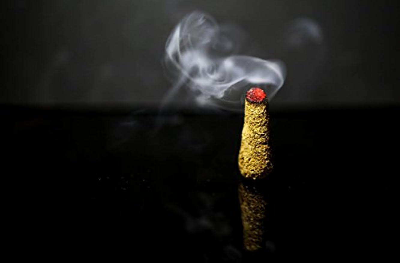 硫黄上流の怒ってPalo Santo Holy Wood Incense Cones 30個