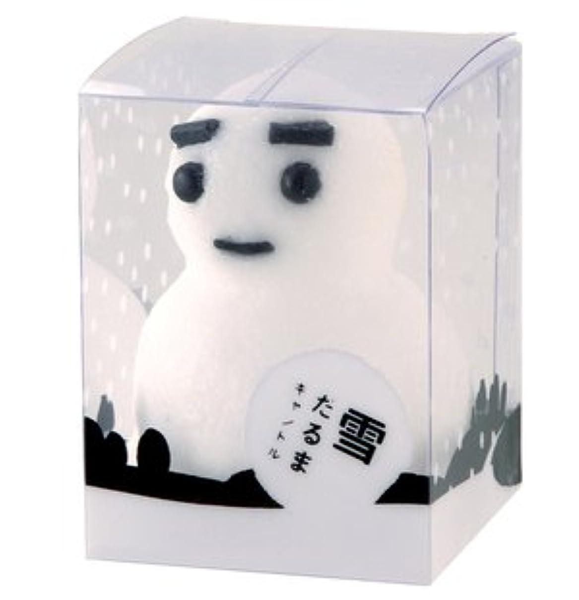 甘い王朝感心する雪だるまキャンドルS 21510000