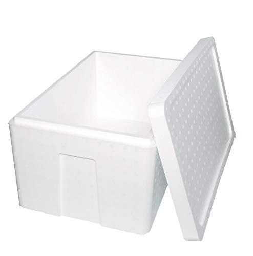 発泡スチロール 箱 (肉厚) 保温冷凍箱 1セット550×350×285mm 【内容量33.5リッター】