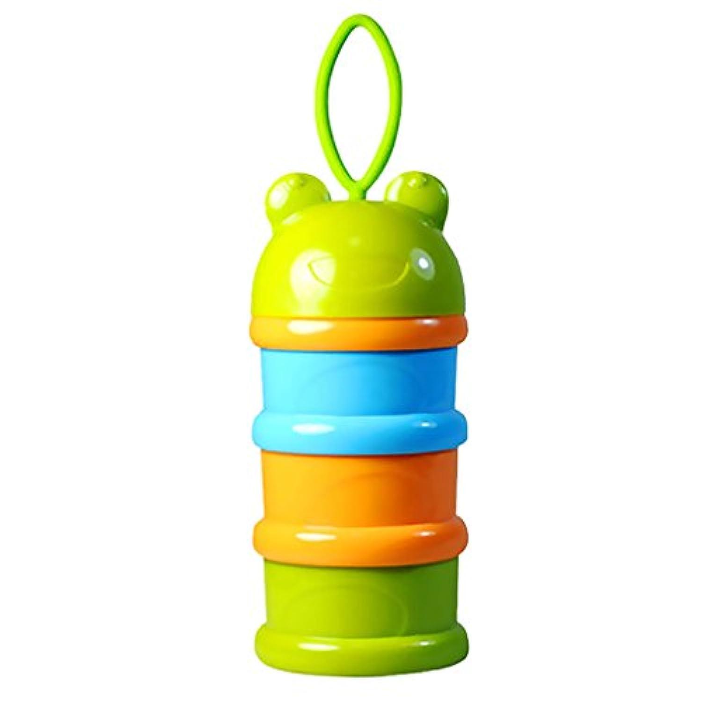 Fenteer 全2色 お出かけ用離乳食ケース ベビー離乳食 便利 - 緑