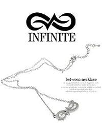 INFINITE(インフィニット)/between ネックレス シルバー