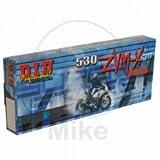 D.I.D(大同工業)バイク用チェーン カシメジョイント付属 530ZVM-X-108ZB G&G(ゴールド) X-リング 二輪 オートバイ用