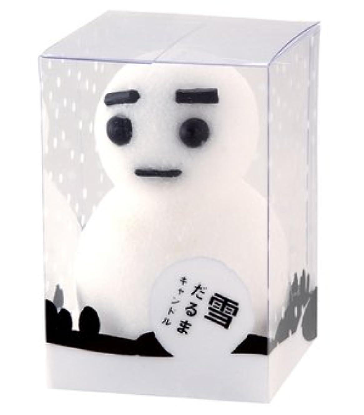 人形支援する明確に雪だるまキャンドルM 21510010