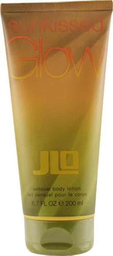 確認間違いなくお酢ジェニファーロペス サンキスト グロウ ボディローション 200mL