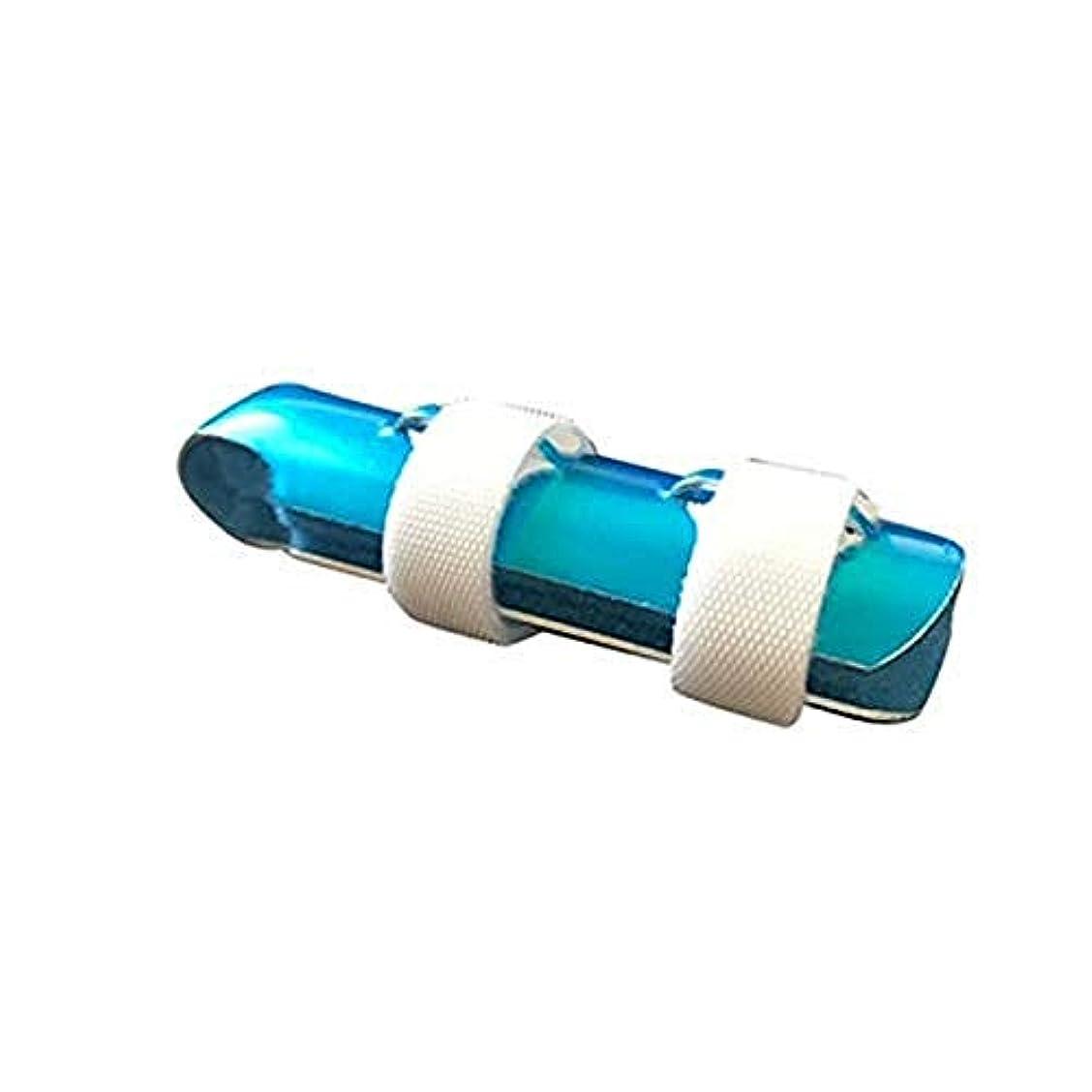 珍しい落ちたのぞき穴トリガーフィンガースプリント、関節炎男性女性プロの指のトレーニングのためのアルミニウム指プロテクター,5cm