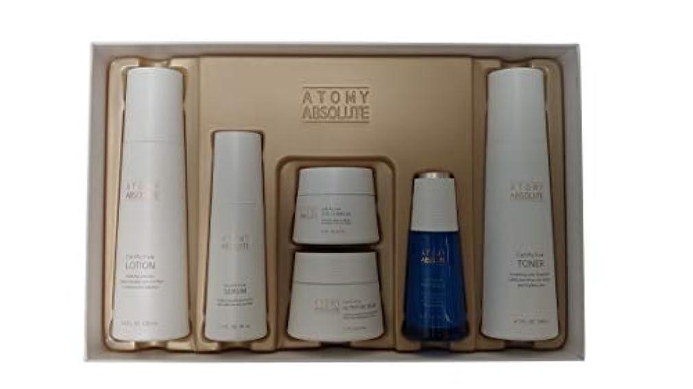 見つけた突き出す召集するAtomy(アトミ) エイソルー Absolute CellActive Skincare 6種 Set [並行輸入品]