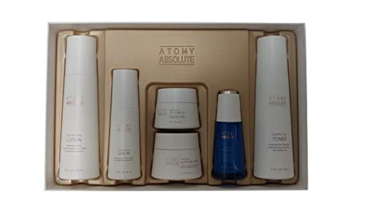 イタリック多用途違うAtomy(アトミ) エイソルー Absolute CellActive Skincare 6種 Set [並行輸入品]