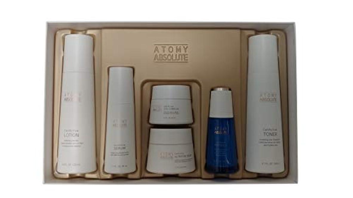 あいさつ白鳥バージンAtomy(アトミ) エイソルー Absolute CellActive Skincare 6種 Set [並行輸入品]