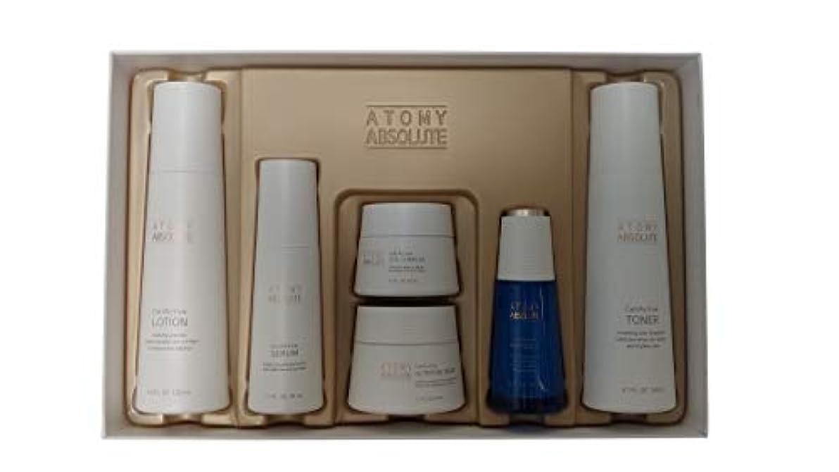 ワンダー解く流用するAtomy(アトミ) エイソルー Absolute CellActive Skincare 6種 Set [並行輸入品]