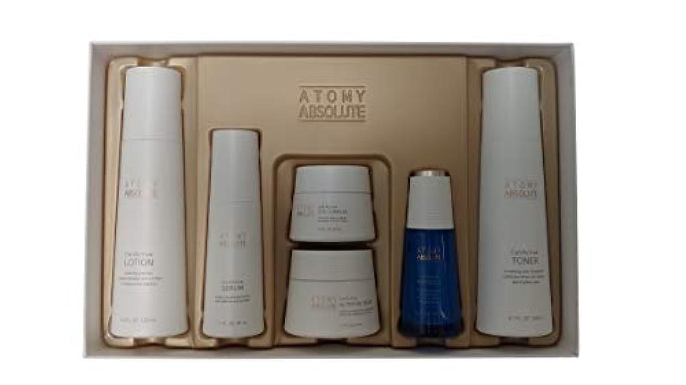 気絶させる無力電池Atomy(アトミ) エイソルー Absolute CellActive Skincare 6種 Set [並行輸入品]