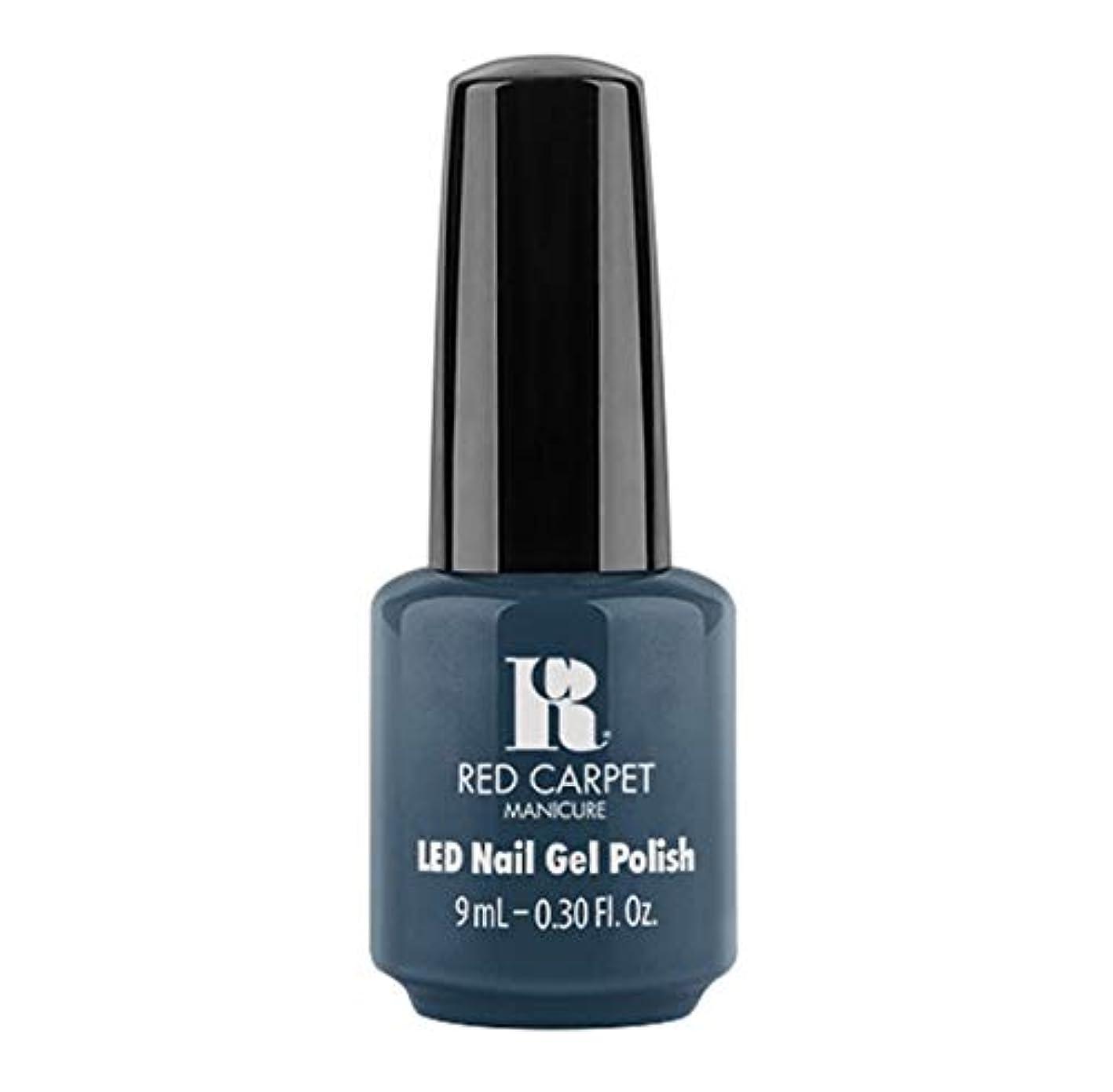 学校の先生フォーク最適Red Carpet Manicure - LED Nail Gel Polish - Teal The One - 9ml / 0.30oz