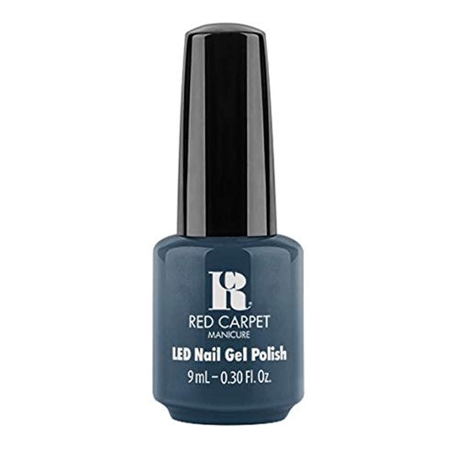 ストレッチ衣服合図Red Carpet Manicure - LED Nail Gel Polish - Teal The One - 9ml / 0.30oz