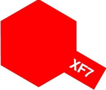 タミヤカラー アクリルミニ XF-7 フラットレッド つや消し