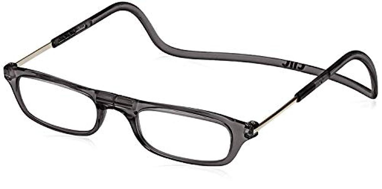 老眼鏡 CliC readers(クリック リーダー) ブラック +2.00