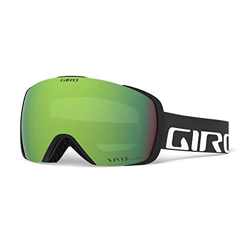 Giro 2018?Contact Ski Goggle???ブラックWordmarkフレーム グリーン
