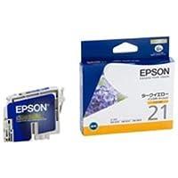 (業務用4セット) EPSON エプソン インクカートリッジ 純正 【ICDY21】 ダークイエロー(黄) ds-1460177