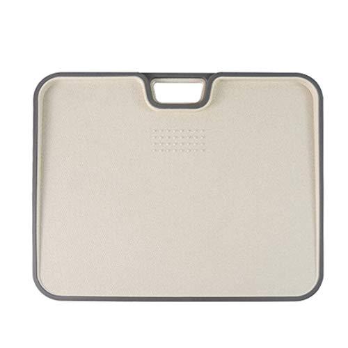 まな板 抗菌まな板 こぼれにくいフチ付き多機能まな板 両面使えて 耐熱 食洗機対応 家庭用 アウトドアに適用する(34*27.5*1.5cm)