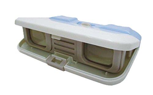 キャプテンスタッグ(CAPTAIN STAG) ポケットイン双眼鏡 3×28mm ブルー UM-1834
