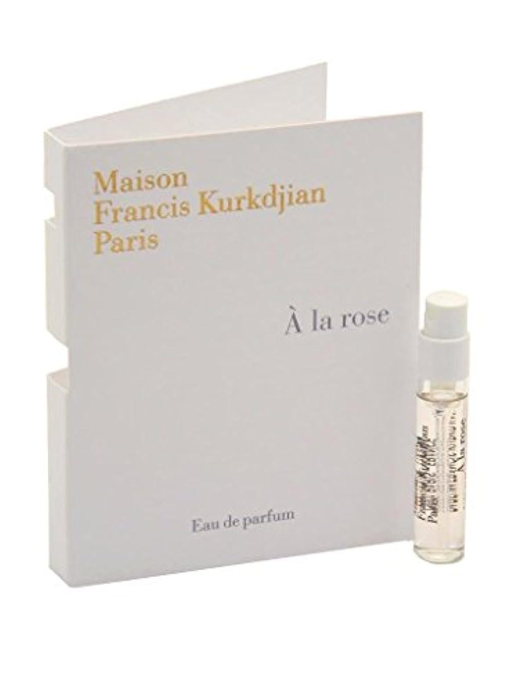 Maison Francis Kurkdjian A La Rose EDP Vial Sample 2ml(メゾン フランシス クルジャン ア ラ ローズ オードパルファン 2ml)[海外直送品] [並行輸入品]