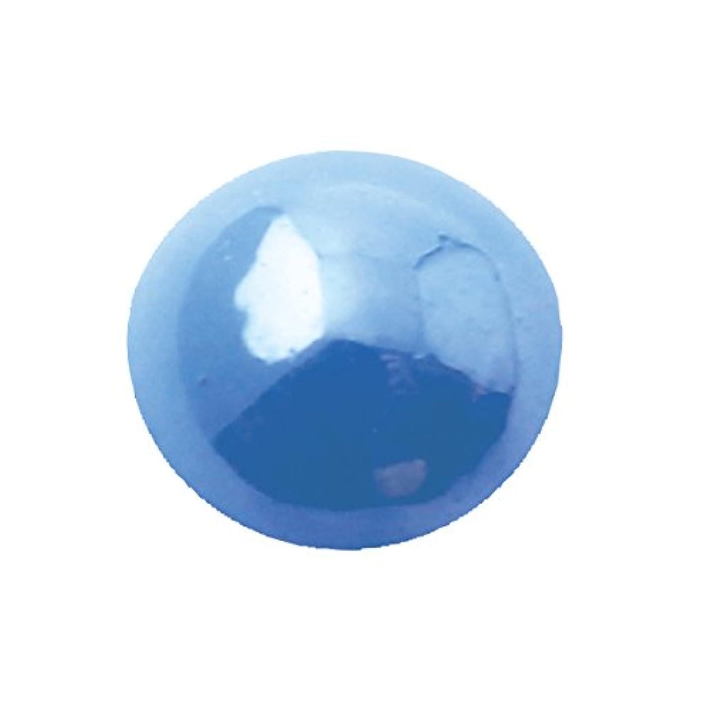 安定したハム着陸グラスパールラウンド 5mm(各30個) ブルー