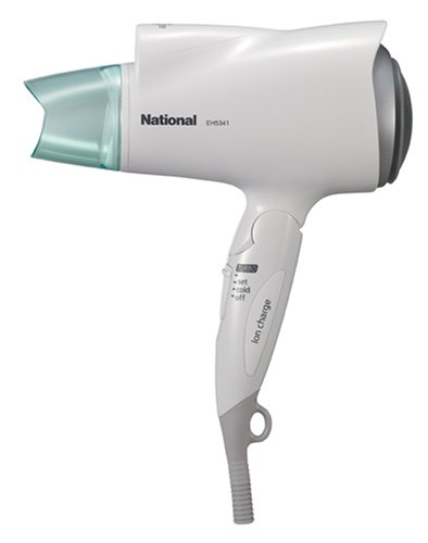 National ナノケアドライヤー(低騒音化タイプ) 白 EH5341-W