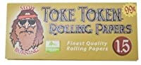 Toke Token 1.5 Finest Quality Slow Burning Rolling Papers 3 Booklets by Toke Token [並行輸入品]