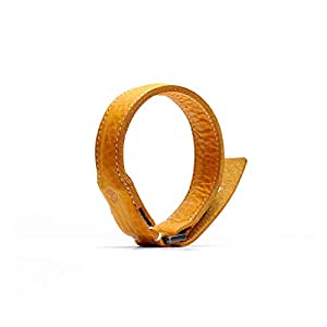 SLG Design MFi認証 ライトニングケーブル ブレスレット Minerva Box Leather Bracelet Cable タン 本革 USB充電 データ転送【日本正規代理店品】