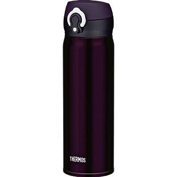 サーモス 水筒 真空断熱ケータイマグ 【ワンタッチオープンタイプ】 0.5L ディープパープル JNL-500 DPL
