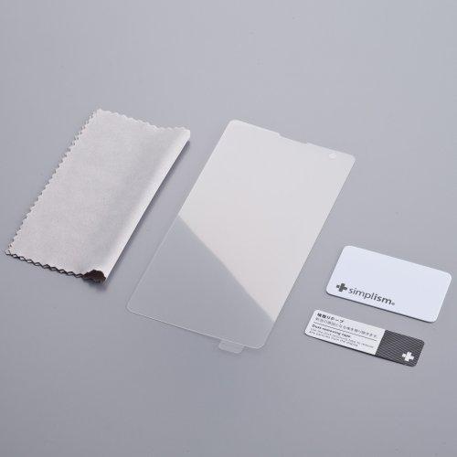 Simplism Xperia GX / SO-04D 液晶保護フィルム 抗菌仕様 光沢 クリスタルクリア TR-PFXPGX12-CC
