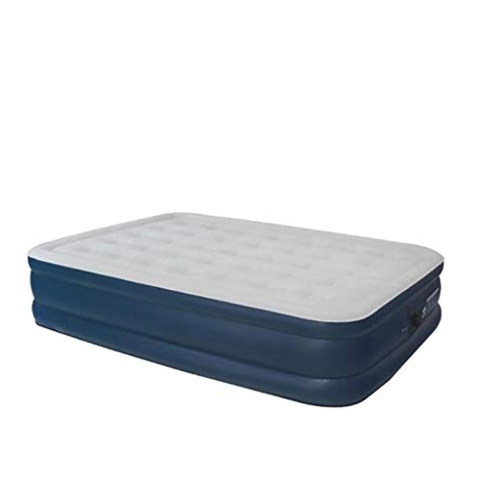 感じるチャップアプローチ屋外のマットレスの高さを増やすために厚めのシングルエアマットレスを植毛する家庭用インフレータブルベッド