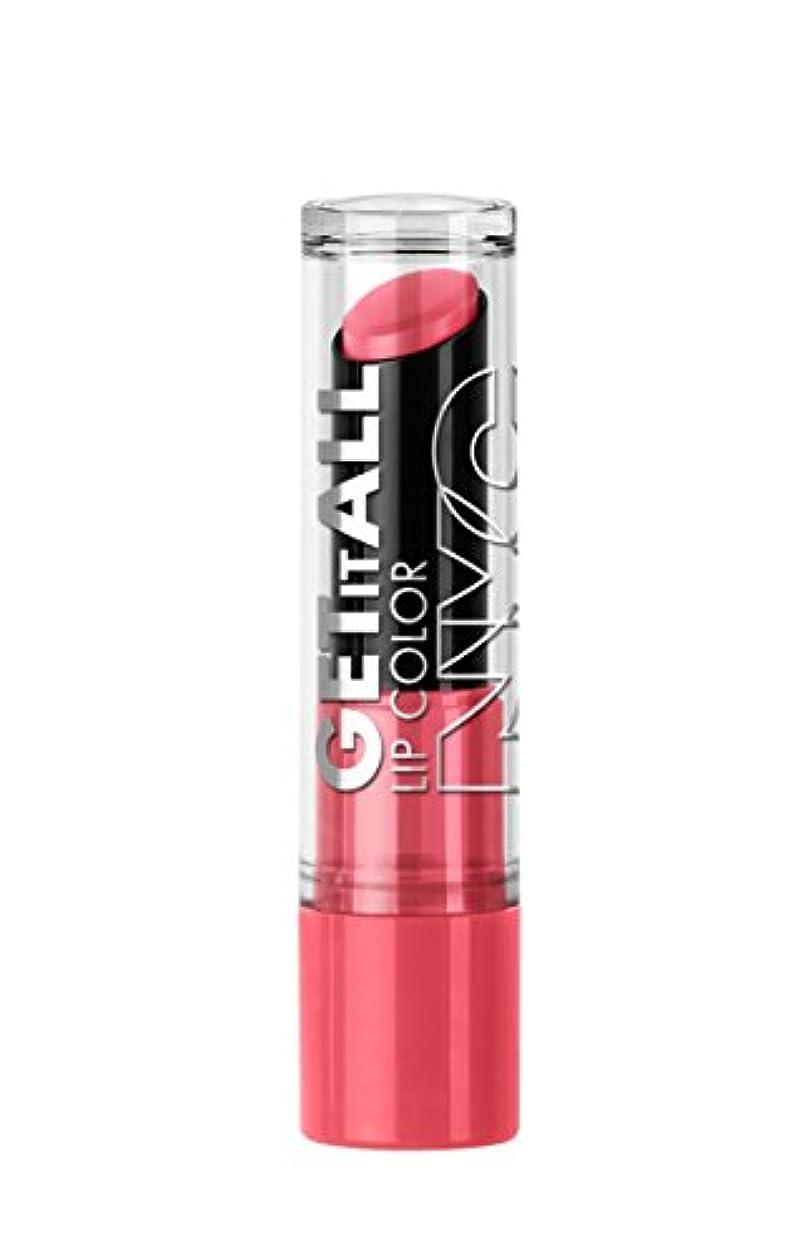 吐き出す女優より平らなNYC Get It All Lip Color TerrifiCORAL (並行輸入品)