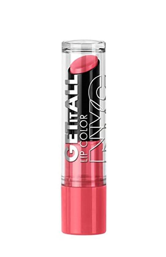 オークランド閲覧する水を飲むNYC Get It All Lip Color TerrifiCORAL (並行輸入品)