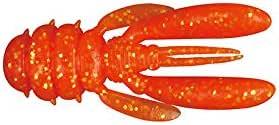 JACKALL(ジャッカル) ワーム グッドミールクロー 1.5インチ オレンジゴールドフレーク