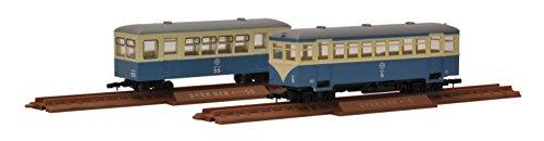 トミーテック ジオコレ 鉄道コレクションナロー80 ナローゲージ80 猫屋線 キハ1・ホハフ50形 新塗装 ジオラマ用品