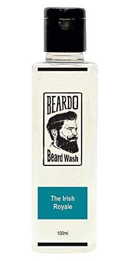 破壊的粗いシャンパンBeardo Beard Wash (The Irish Royale) - 100 ml With Natural Ingredients - Nutmeg, Clove and Lime