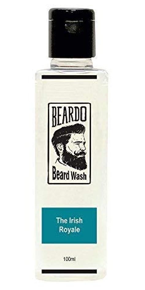 継続中ディスク大人Beardo Beard Wash (The Irish Royale) - 100 ml With Natural Ingredients - Nutmeg, Clove and Lime