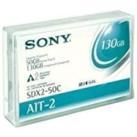 Sony SDX2-50C AIT-2 Data Cartridge 50/130 GB with Memory Chip (1-Pack) [並行輸入品]