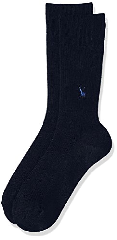 (アツギ)ATSUGI メンズ靴下 WORK-Fit(ワークフィット) リブ 馬刺繍 ソックス 〈3足組〉