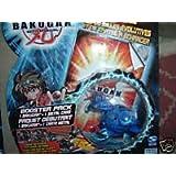 Skyress Blue Bakugan Battle Brawler Booster Pack with Metal Card