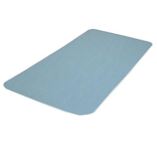 強力除湿シート シングルサイズ ブルー 除湿マット ベルオアシスやモイスファインよりも吸湿性が高い 特殊吸湿繊維30%