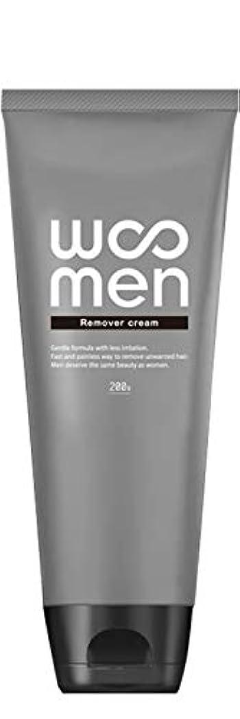 均等にほこりドループ医薬部外品 除毛クリーム 2in1 薬用 200g メンズ ボディ用 vio WOOMEN(ウーメン)