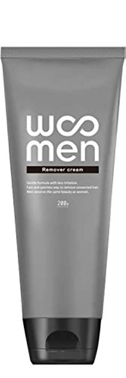 白いコンベンションリサイクルする医薬部外品 除毛クリーム 2in1 薬用 200g メンズ ボディ用 vio WOOMEN(ウーメン)