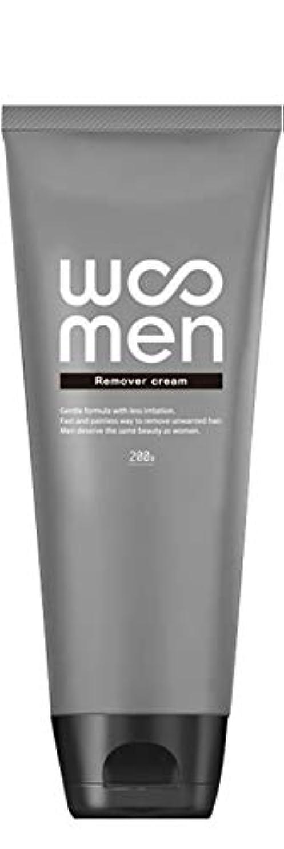 うんざり湿った病医薬部外品 除毛クリーム 2in1 薬用 200g メンズ ボディ用 vio WOOMEN(ウーメン)